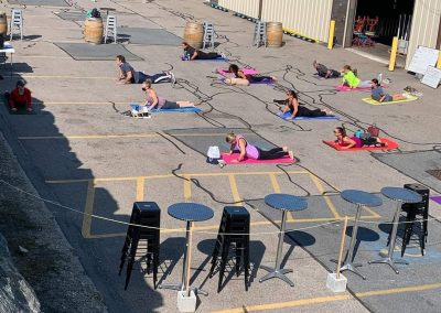 Beer Yoga 2019 - Yoga in the sun before some beer!